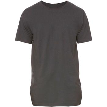 Abbigliamento Uomo T-shirt maniche corte Bella + Canvas Long Body Grigio scuro screziato