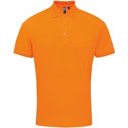 Abbigliamento Uomo Polo maniche corte Premier PR615 Arancio Neon