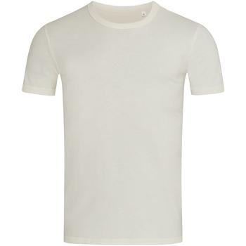 Abbigliamento Uomo T-shirt maniche corte Stedman Stars Morgan Bianco crema