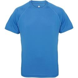 Abbigliamento Uomo T-shirt maniche corte Tridri TR011 Zaffiro