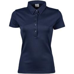 Abbigliamento Donna Polo maniche corte Tee Jays Pima Blu navy