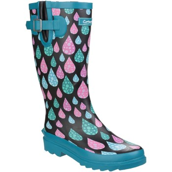 Scarpe Donna Stivali da pioggia Cotswold Burghley Gocce