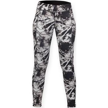 Abbigliamento Donna Leggings Skinni Fit SK424 Nero/Stampa