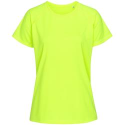 Abbigliamento Donna T-shirt maniche corte Stedman  Giallo brillante