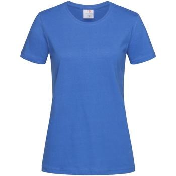 Abbigliamento Donna T-shirt maniche corte Stedman  Blu reale acceso