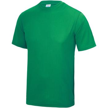 Abbigliamento Unisex bambino T-shirt maniche corte Awdis JC01J Verde kelly