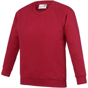 Abbigliamento Unisex bambino Felpe Awdis  Rosso