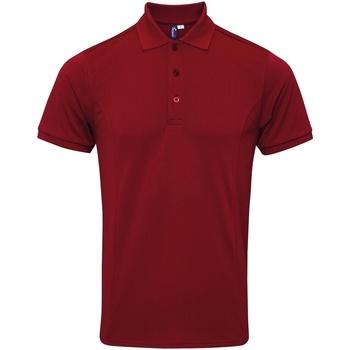 Abbigliamento Uomo Polo maniche corte Premier PR630 Bordeaux