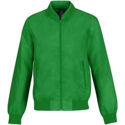 Abbigliamento Uomo Giubbotti B And C Trooper Verde/Arancione neon
