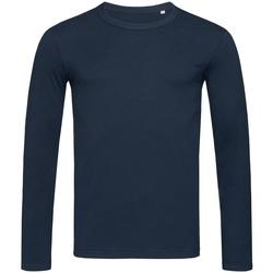 Abbigliamento Uomo T-shirts a maniche lunghe Stedman Stars  Blu scuro