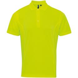 Abbigliamento Uomo Polo maniche corte Premier PR615 Giallo Neon