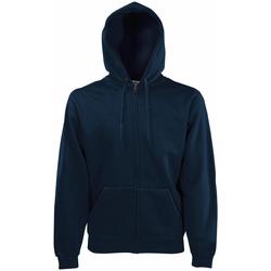 Abbigliamento Uomo Felpe Fruit Of The Loom 62034 Blu scuro