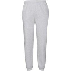 Abbigliamento Uomo Pantaloni da tuta Fruit Of The Loom 64040 Grigio