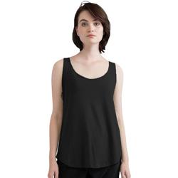 Abbigliamento Donna Top / T-shirt senza maniche Mantis M92 Nero
