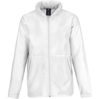 Abbigliamento Uomo Felpe in pile B And C JM825 Bianco/ Bianco