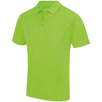 Abbigliamento Uomo Polo maniche corte Awdis JC040 Verde elettrico