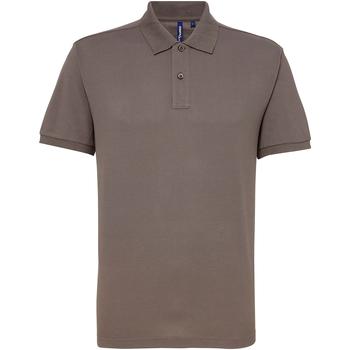 Abbigliamento Uomo Polo maniche corte Asquith & Fox AQ015 Ardesia