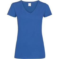 Abbigliamento Donna T-shirt maniche corte Universal Textiles Value Cobalto