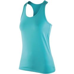 Abbigliamento Donna Top / T-shirt senza maniche Spiro SR281F Menta