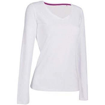 Abbigliamento Donna T-shirts a maniche lunghe Stedman Stars  Bianco