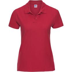Abbigliamento Donna Polo maniche corte Russell J577F Rosso