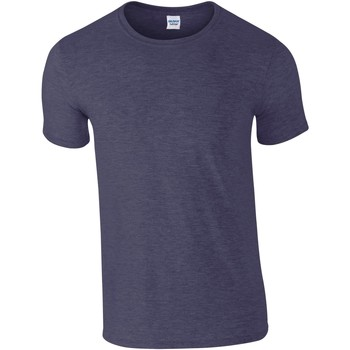 Abbigliamento Uomo T-shirt maniche corte Gildan Soft-Style Blu navy screziato