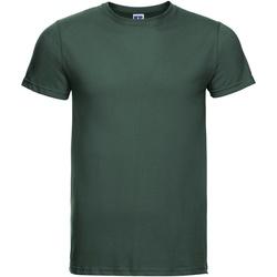 Abbigliamento Uomo T-shirt maniche corte Russell R155M Verde bottiglia