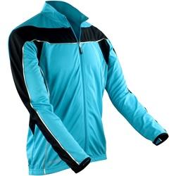 Abbigliamento Uomo Giacche sportive Spiro S255M Verde acqua/Nero