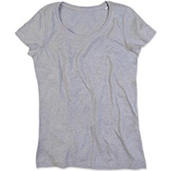 Abbigliamento Donna T-shirt maniche corte Stedman Stars Lisa Grigio screziato