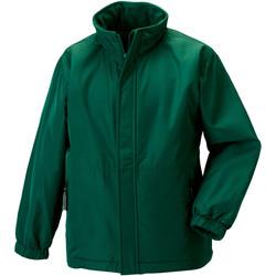 Abbigliamento Unisex bambino giacca a vento Jerzees Schoolgear 875B Verde bottiglia