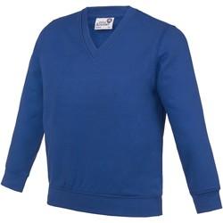 Abbigliamento Unisex bambino Felpe Awdis  Blu Reale Scuro