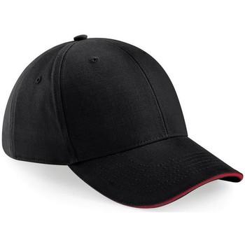 Accessori Cappellini Beechfield B20 Nero/Rosso Classico