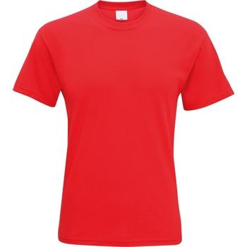 Abbigliamento Uomo T-shirt maniche corte Universal Textiles 61082 Rosso brillante