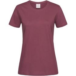 Abbigliamento Donna T-shirt maniche corte Stedman  Bordeaux