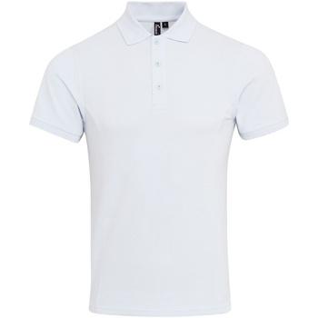 Abbigliamento Uomo Polo maniche corte Premier PR630 Bianco