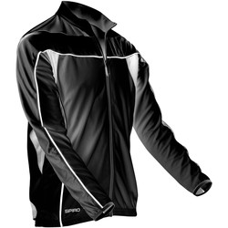 Abbigliamento Uomo Giacche sportive Spiro S255M Nero/Bianco