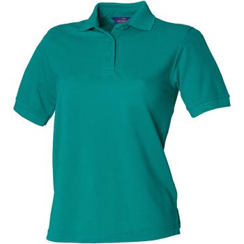Abbigliamento Donna Polo maniche corte Henbury HB401 Giada