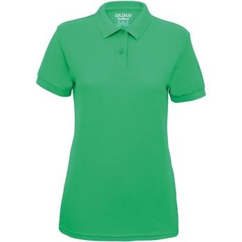 Abbigliamento Donna Polo maniche corte Gildan 75800L Verde Irlanda