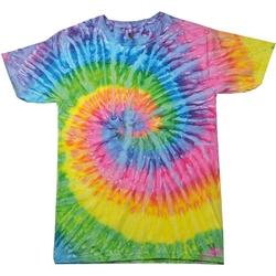 Abbigliamento Donna T-shirt maniche corte Colortone Rainbow Saturno