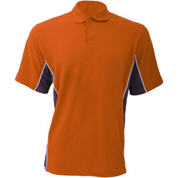 Abbigliamento Uomo Polo maniche corte Gamegear KK475 Arancio/Grafite/Bianco