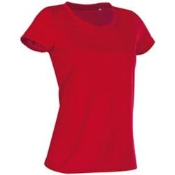 Abbigliamento Donna T-shirt maniche corte Stedman Cotton Touch Rosso