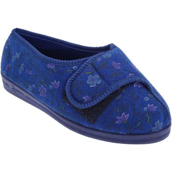 Scarpe Donna Pantofole Comfylux  Blu navy
