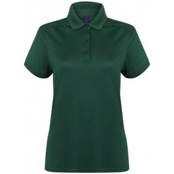 Abbigliamento Donna Polo maniche corte Henbury HB461 Verde bottiglia