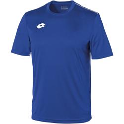 Abbigliamento Unisex bambino T-shirt maniche corte Lotto LT26B Blu reale/Bianco