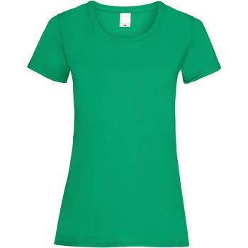 Abbigliamento Donna T-shirt maniche corte Universal Textiles 61372 Verde