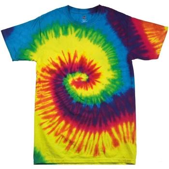 Abbigliamento Unisex bambino T-shirt maniche corte Colortone TD02B Arcobaleno
