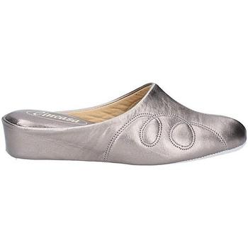 Scarpe Donna Pantofole Cincasa Menorca MAHON SLIPPER Peltro