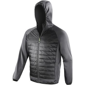 Abbigliamento Uomo giacca a vento Spiro  Nero/Carbone