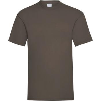 Abbigliamento Uomo T-shirt maniche corte Universal Textiles 61036 Marrone