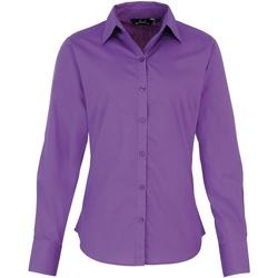 Abbigliamento Donna Camicie Premier PR300 Violetto